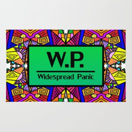 WP - Widespread Panic - Psychedelic Pattern 1 Rug