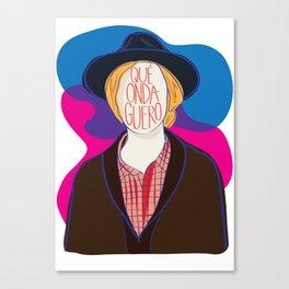 Qué Onda Beck Canvas Print