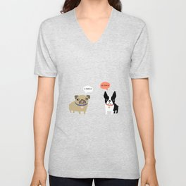 Dog Fart Unisex V-Neck