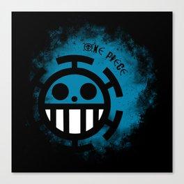 Blue Trafalgar - One Piece Anime Canvas Print
