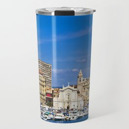 Marseille view from sea. Travel Mug
