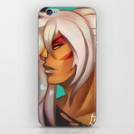 Ponytail Jasper iPhone Skin