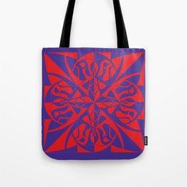 Think Mandala - Purple Red Tote Bag
