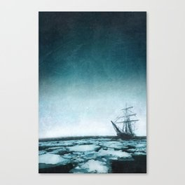 The trip of Shackleton Canvas Print