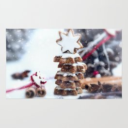 Christmas bakery Rug