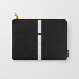 Minimal White 9 Carry-All Pouch