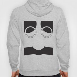 Face Groucho Graphic Hoody
