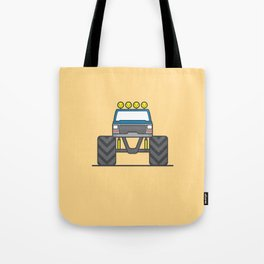 #5 Bigfoot Tote Bag