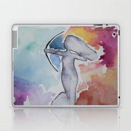 Diana in rainbow Laptop & iPad Skin