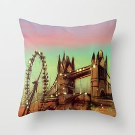 The LONDON LOOK Throw Pillow