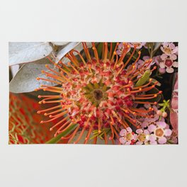 Pincushion Protea Rug