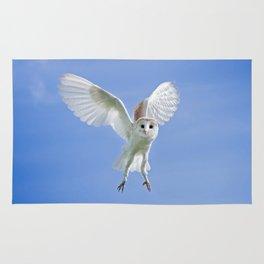Flying Barn Owl Rug