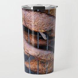 Smoked fish pike and roach Travel Mug