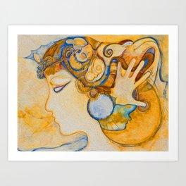 The Secret Dream Art Print