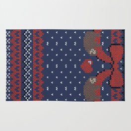 A Lazy Winter Sweater Rug