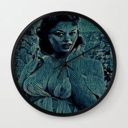 Digital Curving Wall Clock