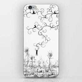 Hangin' Loose & Swingin' on Life iPhone Skin