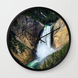 Grand Canyon of the Yellowstone Wall Clock