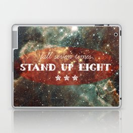 fall seven times stand up eight Laptop & iPad Skin