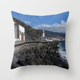 Candelaria Tenerife Throw Pillow