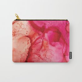 Pink Lava Cosmos Carry-All Pouch