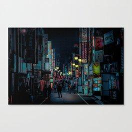 Tokyo Nights / Kabukicho Nights / Liam Wong Canvas Print