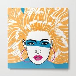 Summer Blonde '82 Metal Print