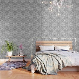Steampunk seamless pattern with industrial technical Wallpaper