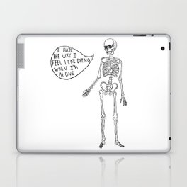 Joyce Manor Skeleton Laptop & iPad Skin
