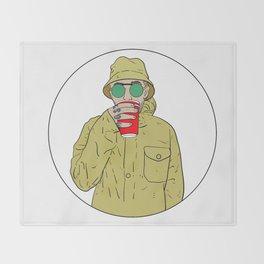 "Mac Miller R.I.P ""Juice"" Throw Blanket"