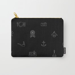 Hipster's Day Carry-All Pouch