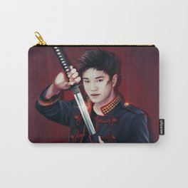 I Need a Hero Carry-All Pouch