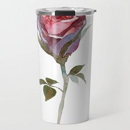 Rose watercolor Travel Mug