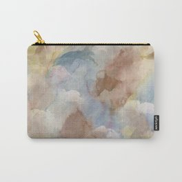 Earth Color Watercolor Abstract Carry-All Pouch