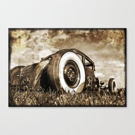 The Pixeleye - Special Edition Hot Rod Series II Canvas Print