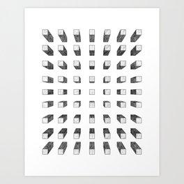 Boxed Art Print