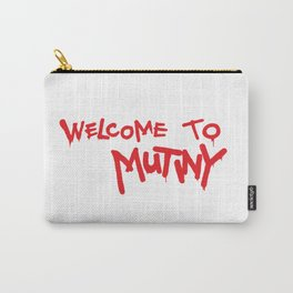 Welcome to Mutiny - Halt & Catch Fire Carry-All Pouch