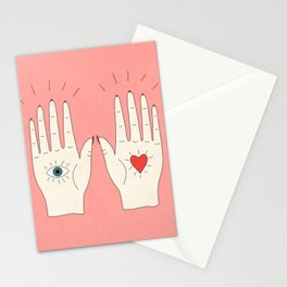 Raising Hands Stationery Cards