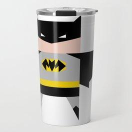 simpleheroes BAT-MAN fan art Travel Mug