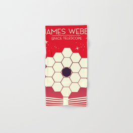 james webb space telescope, Hand & Bath Towel