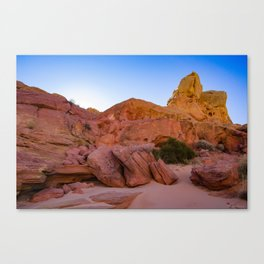 Colorful Sandstone, Valley of Fire - III Canvas Print