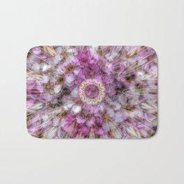 Floral fusion mandala Bath Mat