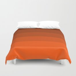 Pumpkin Spice in the Fall - Color Therapy Duvet Cover