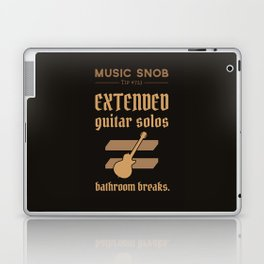 Solos = DON'T GO-s! — Music Snob Tip #723 Laptop & iPad Skin