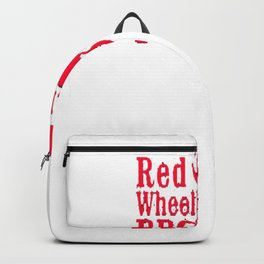 Mr. Robot Red Wheelbarrow BBQ Premium T-Shirt Backpack