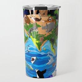 A World of Animals Travel Mug