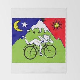 Lsd Bicycle Throw Blanket
