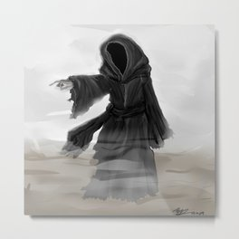 Ghost of Christmas Yet to Come Metal Print