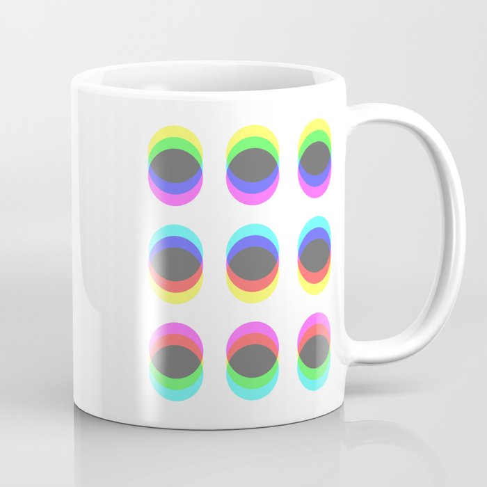 CMYK in RGB Circles Coffee Mug