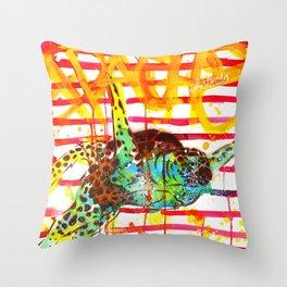 Mutante #19 Throw Pillow
